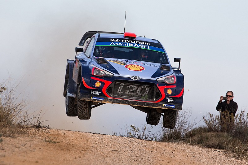 Catalunya WRC: Tanak drama gifts Sordo narrow lead