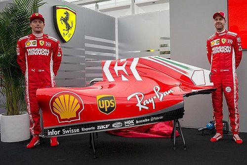 Ferrari presenta su nueva decoración previo al GP de Japón