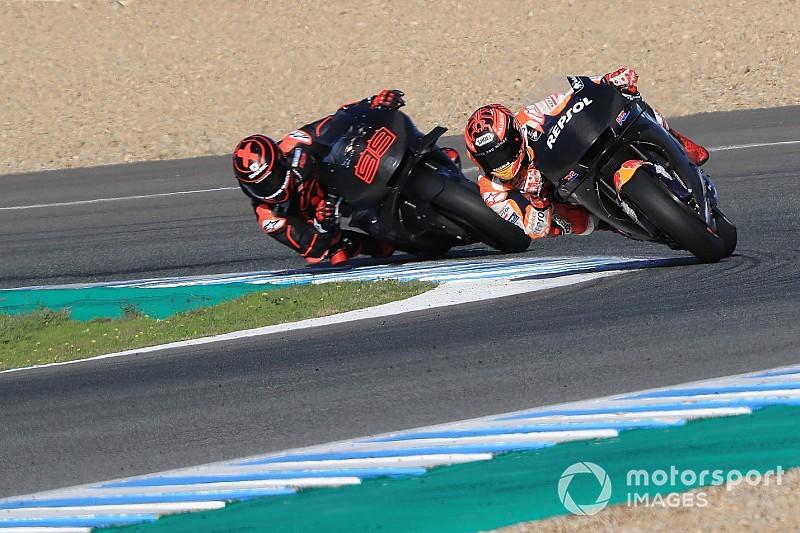 Pressure is on Marquez, not Lorenzo - Rainey