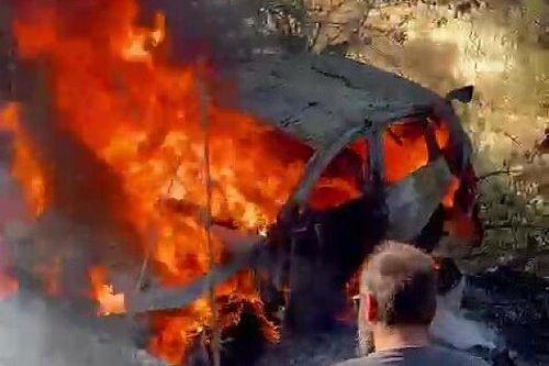 رالي قبرص: غالاتاريوتيس يتصدر واحتراق سيارة العطية وانسحاب الوهيبي مع نهاية اليوم الأوّل