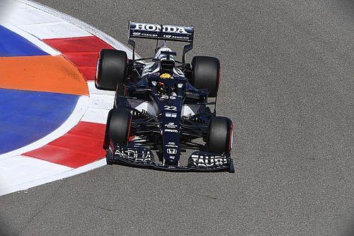 F1ロシアFP2速報:ボッタスが連続首位で完璧な初日。角田裕毅は18番手