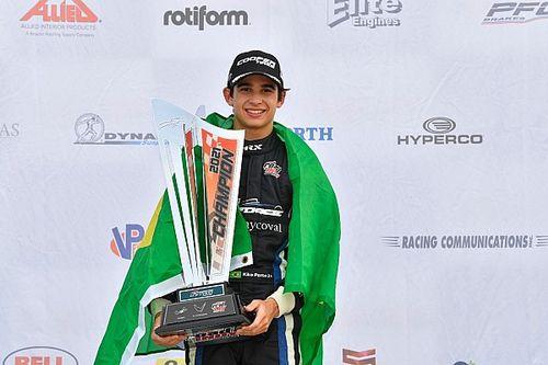 Título brasileiro na base da Indy: Kiko Porto é campeão da USF2000