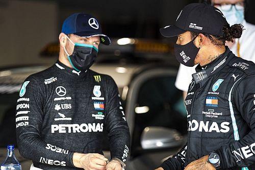 F1: Wolff diz que Bottas teve mais azar do que incompetência em 2020