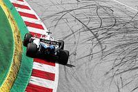 Kényszerű motoralkatrész cserék a Williams-Mercedesnél Russell autójában a Stájer Nagydíj előtt