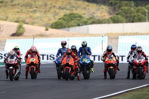 La parrilla de salida del GP de Portugal 2021 de MotoGP