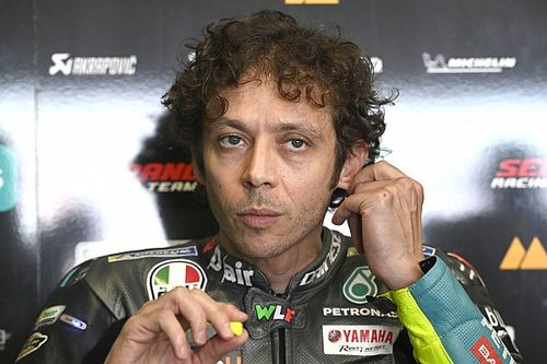 "Rossi ""worried"" by current MotoGP form in Portugal"