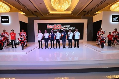 Musim 2021, Line-up Astra Honda Racing Team Tetap Sama
