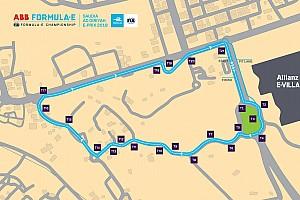 الكشف عن مسار الرياض للفورمولا إي