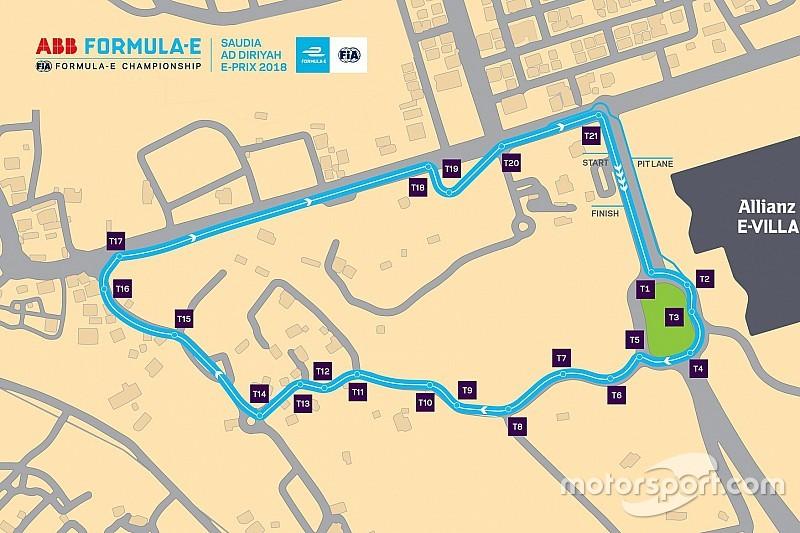 Formel E präsentiert vorläufige Strecke in Riad
