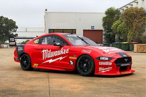 Bold new look for Davison's 23Red Mustang
