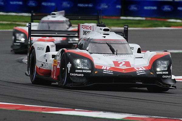 WEC Porsche сделала дубль на этапе WEC в Мексике