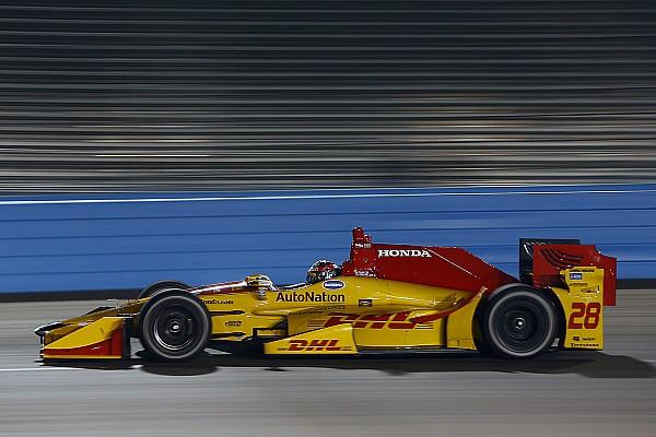 IndyCar Hunter-Reay tops IndyCar's crash-filled test session