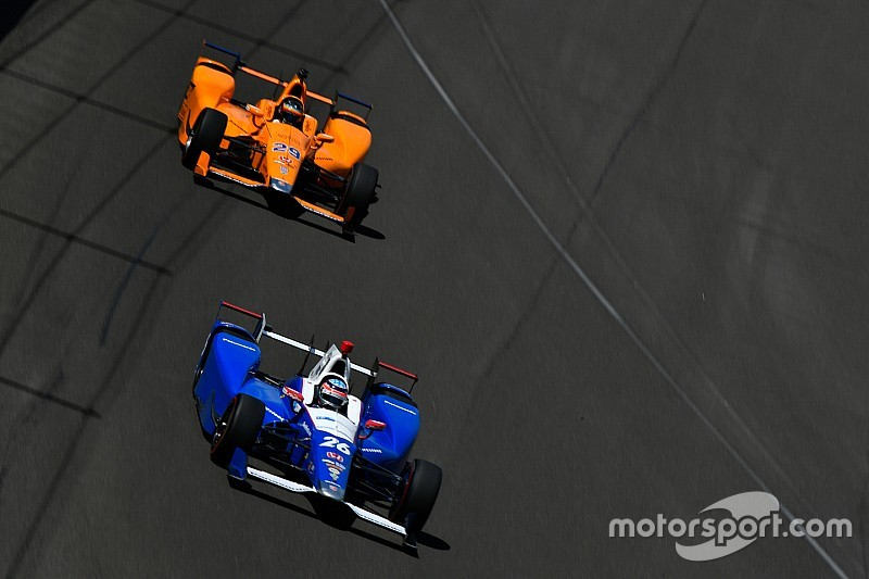 Sato praises Alonso's driving and feedback at Indy