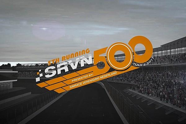 Videogames Live simrace: SRVN 500 op de Indianapolis Motor Speedway