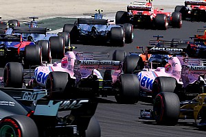 "Formula 1 Breaking news Ocon says Perez ""ripped off my floor"" in first-corner collision"