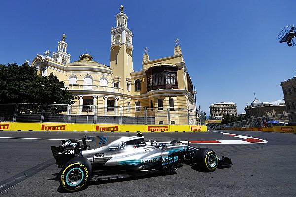 F1 练习赛报告 阿塞拜疆大奖赛FP3:博塔斯最快,维斯塔潘与维特尔遇故障