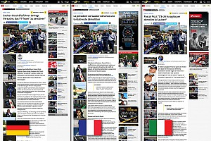 General Comunicados de prensa Motorsport.com lanza la innovadora edición suiza, disponible en tres idiomas