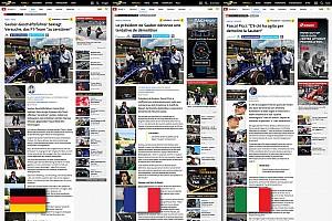 General Motorsport.com news Motorsport.com launches tri-language Swiss edition