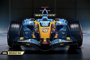 SİMÜLASYON DÜNYASI Son dakika F1 2017'de Renault R26 da yer alacak