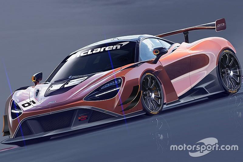 La nuova McLaren 720S GT3 arriverà nel 2019