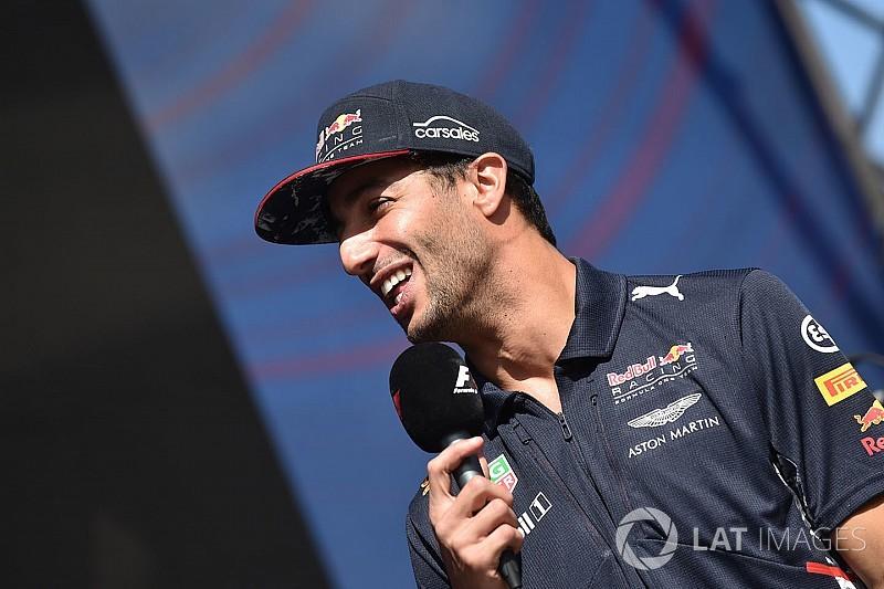 Ricciardo voit Red Bull à la lutte avec Mercedes et Ferrari