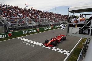 Formule 1 Raceverslag Vettel pakt WK-leiding met zege in Canada, podiumplaats Verstappen