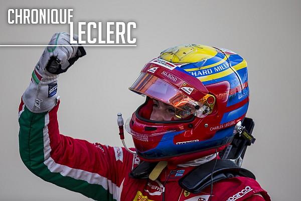 FIA F2 Chronique Chronique Leclerc - La saison 2017 a changé ma carrière
