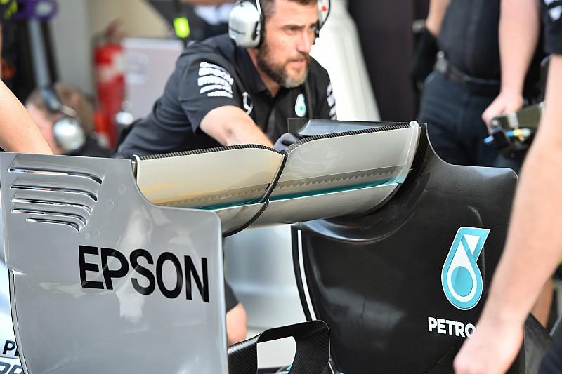 Ferrari ve Mercedes, Bakü'de kullanacakları kanatları işaret ettiler