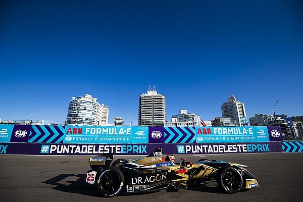 Fórmula E Relato da corrida Vergne resiste à pressão de Di Grassi e vence no Uruguai