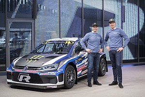 World Rallycross Breaking news Solberg's Volkswagen-backed Polo RX car revealed