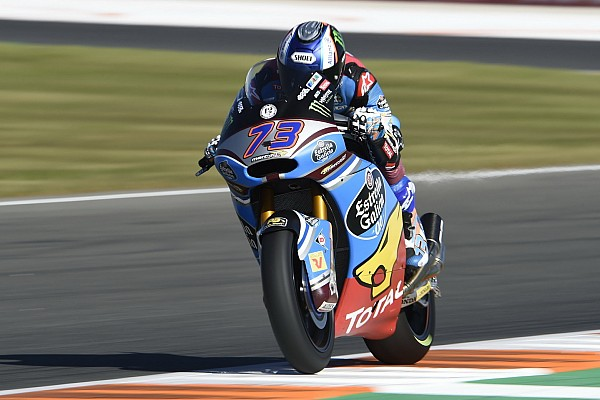 Márquez é pole em Valência; Granado larga em 18º