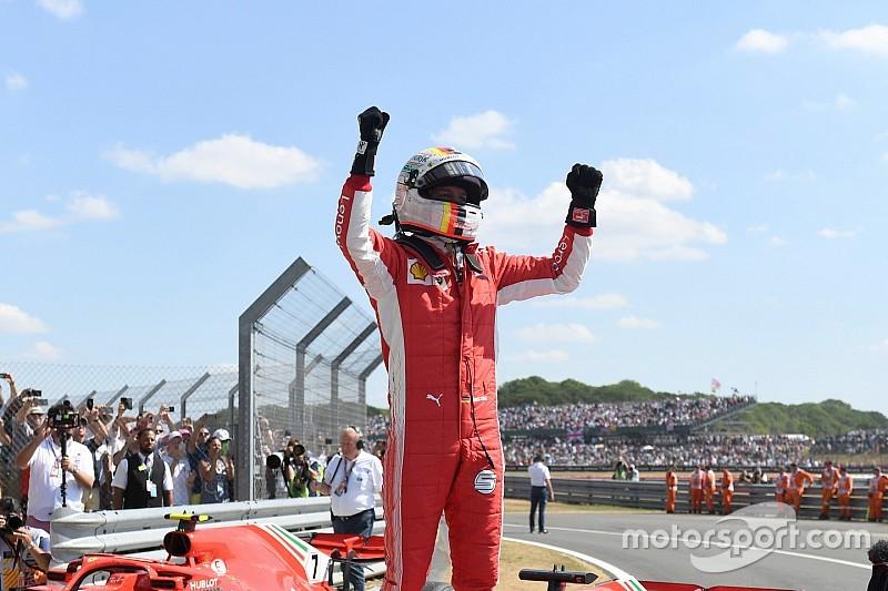 Course - Vettel devance Hamilton dans un final à suspense!