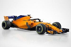 إطلاق سيارة مكلارين بألوانها البرتقالية والزرقاء لموسم 2018