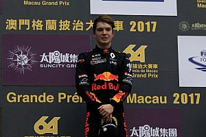 Євро Ф3 Важливі новини Юніор Red Bull Ден Тіктем перейде до Євро Ф3 у 2018 році