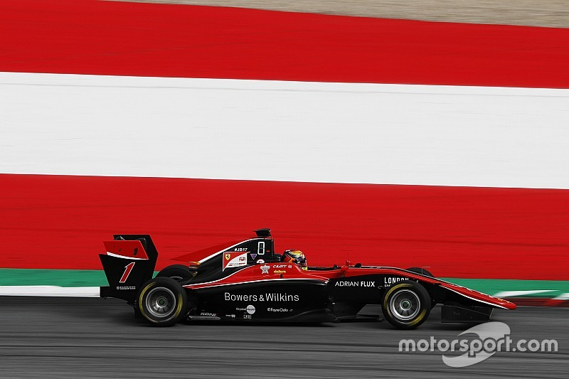 Red Bull Ring GP3: Ilott wins as Mazepin hits Hubert