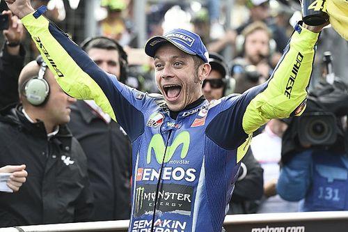 """Platz zwei: Valentino Rossi kämpft gegen die """"jungen Wilden"""""""