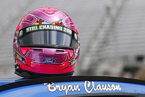 NASCAR Cup Breaking news Stenhouse drives Bryan Clauson tribute car to career-best finish