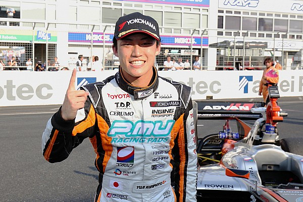Le Mans Breaking news Super Formula champion Kunimoto in Toyota Le Mans frame