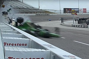IndyCar Feature Video: Der heftige Crash von Josef Newgarden beim IndyCar-Rennen in Texas