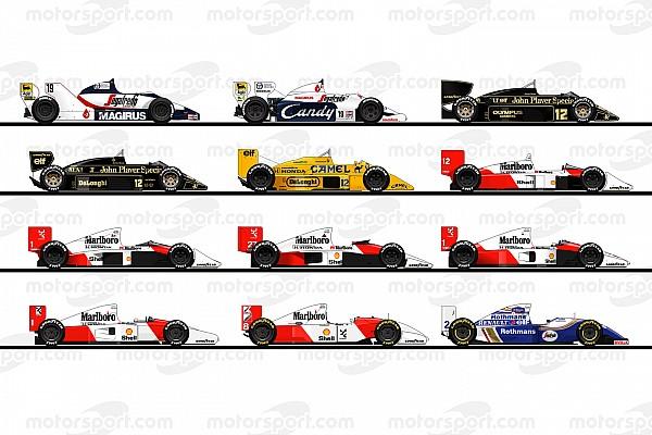 سيارات الفورمولا واحد التي قادها إيرتون سينا في مسيرته