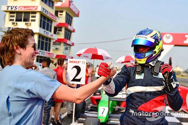 Троицкий доволен третьим местом по итогам MRF Challenge