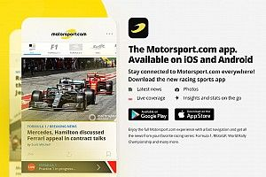 Baixe o novo aplicativo do Motorsport.com! As notícias do mundo da velocidade direto no seu dispositivo