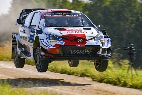 Estonia WRC: Rovanpera leads Friday morning loop, Tanak drops out