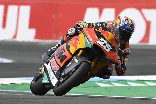 Raúl Fernández se impone en la carrera de Moto2 en Assen