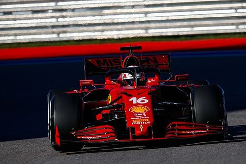 Leclerc, Ferrari'nin yeni güç ünitesinden memnun kaldı