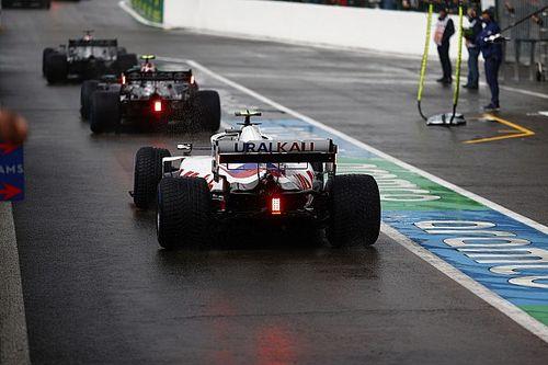 Стартовая решетка Гран При России