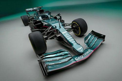 Así luce el Aston Martin AMR21 para su regreso a la F1