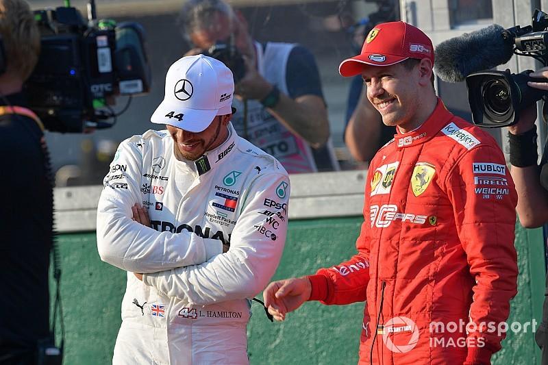 Ennyivel kapott ki Vettel az időmérőn Hamiltontól: videón az onboard