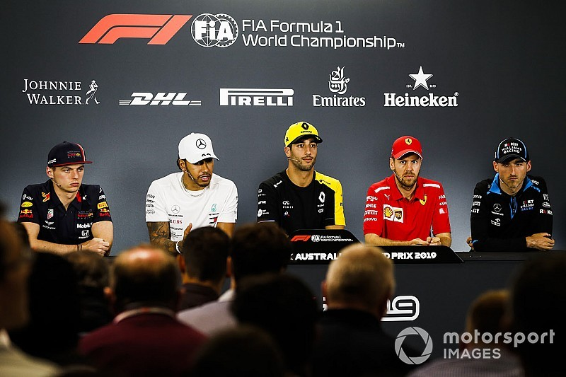 Australian GP: Thursday press conference