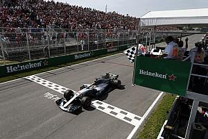 F1 Reporte de la carrera Hamilton arrasa, Vettel sufre y Alonso roza los puntos en Canadá